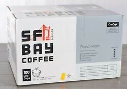 SF Bay French Roast Coffee 100 Count One Cups Compostable Pods K Cup Compatible $44.99