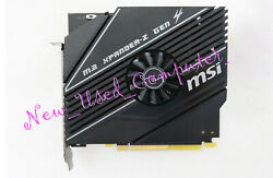➨ quot;Unusedquot; MSI M.2 XPANDER Z GEN 4 NVMe Extrender from MSI Motherboard Kit $69.99