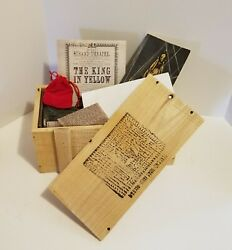Mysterious Package Company The King In Yellow with exclusive content $250.00