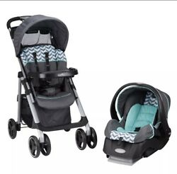 Evenflo Vive™ Travel System With Embrace Infant Car Seat Spearmint Spree $139.00