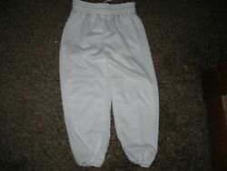 Boys baseball pants white youth Medium new excellent condition $9.99