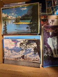 Large Lot Old Vintage Postcards Panoramic Jumbo Novelty Large Format Canada US $24.95