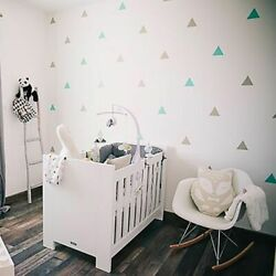 Triangles Wall Sticker For Kids Room Wall Decal Sticker Room Decorative Stickers $7.99