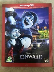 ONWARD 3D 2D Blu ray IN STOCK with slipcover Experienced US Seller $20.00