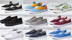 Vans CLASSIC ERA Canvas Sneaker Shoes All Size NEW IN BOX Fast Shipping $56.95