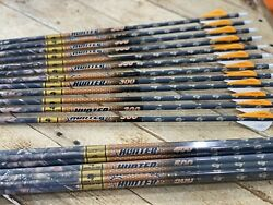 Gold Tip Arrows Hunter Lost camo 300 400 500 1 Dz 2quot; Vanes Or shafts Free Ship $72.00