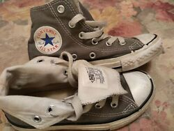 Converse All Star Kids HiTops Kahki Shoes Size 11.5 Unisex $10.00