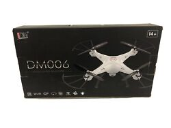 Used Remote Control Quadcopter Camera Drone DM006 In Box $50.00
