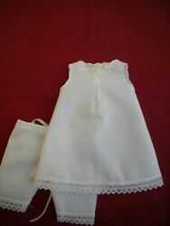Reproduction Antique Doll Underwear to Fit a 10 inch 25.4 cm French Doll $20.00