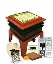 Worm Factory Basic Black 3 Tray Worm Composter Terra Black $130.53