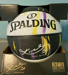 SPALDING X Kobe Bryant Basketball Marbled Snake Series Signature Limited Edition $58.99