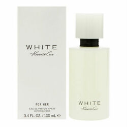 Kenneth Cole White for Her Women Eau de Parfum Spray 3.4 oz New in Box $25.95