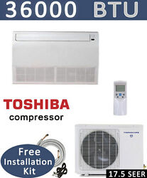 3 TON Ductless Mini Split Air Conditioner Heat Pump CEILING FLOOR 36000 BTU $2279.00