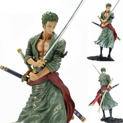 Anime One Piece Roronoa Zoro 8#x27;#x27; Action Figure PVC Model Doll Collection Gift $22.99