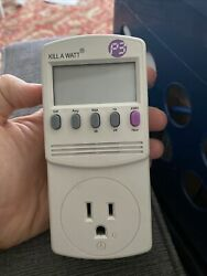 P3 International P4400.01 Kill A Watt Electricity Usage Monitor $16.10