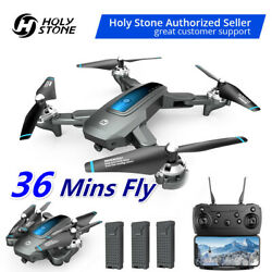 Holy Stone HS240 RC Drone HD Camera Foldable Quadcopter Selfie Toys 3 batteries $69.99