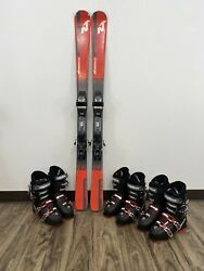 Nordica Drive 76 EXP Downhill Ski 150cm Complete Package With New Alpina Boots $309.99