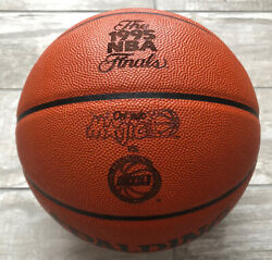 Official Spalding Houston Rockets 1995 NBA Finals Game Ball Leather Basketball $499.99