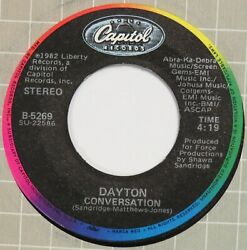 DAYTON Conversation it Must Be Love CAPITOL 45 modern soul boogie VG HEAR $20.00