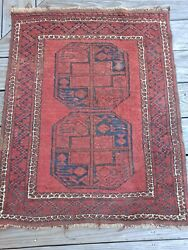 Vintage Oriental Silk Prayer Carpet 27quot; x 34quot; $119.95