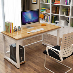 Computer Desk Workstation Home Office Student Dorm Laptop Study Gaming Table US $69.99