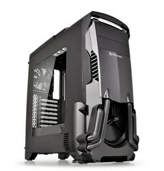 Thermaltake Versa N24 Mid Tower Case 3 blue LED case fans $80.00