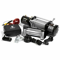 12V Electric 4wd Winch Kit w Wireless Remote Speedmaster 13000lbs 5900kgs $39.99
