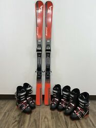 Nordica Drive 76 EXP Downhill Ski 158cm Complete Package With New Alpina Boots $309.99