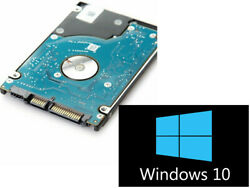 500GB HDD SSD 2.5quot; SATA Hard Drive Laptop Internal With Windows 10 Pro Installed $25.98
