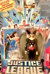 Hawkgirl black outfit Justice League Unlimited exclusive trading card $10.00