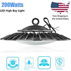 200W LED High Bay Light for Warehouse Super Bright Factory LED Commercial Light