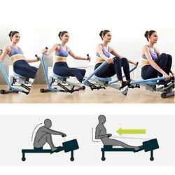 US Rowing Machine Indoor Rower Indoor Double Paddle Hydraulic Rowing Machine $123.00