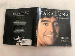 Maradona Mi Vida En Fotos Life time In Picturs Book Cover. Not Sold In The US $149.99
