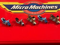 lot of 5 Micro Machines Motorcycles $14.99