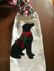 Crochet Top Hanging Kitchen Towels Many Different Holiday Theme Christmas $3.00