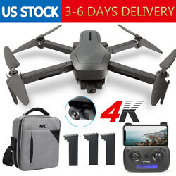 Holy Stone HS470 RC Drone with 4K HD 2 Axis Gimbal Camera Foldable GPS Brushless $155.99