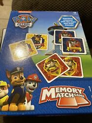 PAW PATROL MEMORY MATCH GAME BY Nickelodeon For Ages 3 And Up $18.40
