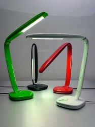 The Ribbon Lamp WHITE Desk Lamp Energy Efficient NEW Color Temp Dim Control $50.00