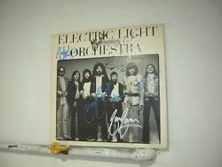 Electric Light Orchestra Signed LP On The Third Day 1973 Jeff Lynne 7 Musicians $120.00