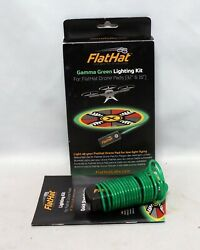 FlatHat Gamma Green Lighting Kit for 16: and 32quot; Drone Pad Demo LN Landing Pad C $14.95