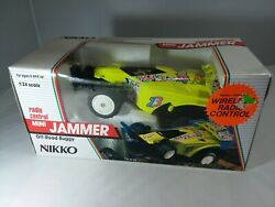 NEW VINTAGE NIKKO RC MINI JAMMER CAR 1 24 SCALE OFF ROAD BUGGY 24213 $69.89
