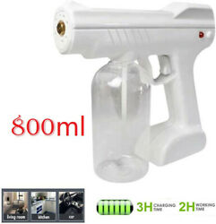Spray Gun Blue Light Nano Steam Sprayer Fogging Home Office Car Disinfection US $29.98