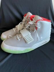 NIKE AIR YEEZY 2 PLATINUM Size 12 Mens Guaranteed Authentic $3500.00