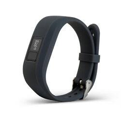 Silicone Watchband Wrist Strap with Metal Buckle for Garmin 3 Gray $6.91