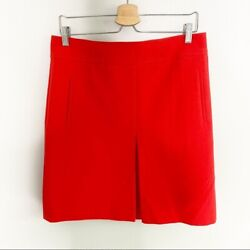 Loft Red Pencil Skirt with Pockets Size 8 #81 $30.00