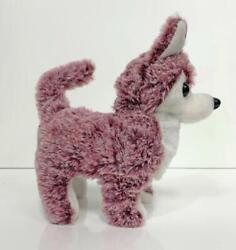 WALKING BARKING TOY MOVING RED COLOR HUSKY DOG battery operated NEW fun pet $9.95