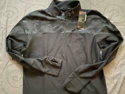 UNDER ARMOUR RUNNING TACTICAL BLACKOUT CAMO 1 4 ZIP. SIZE M MEN NWT $$$$ $44.99