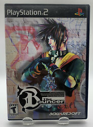The Bouncer for Sony Playstation 2 PS2 No Manual Black Label NTSC By Squaresoft C $29.95