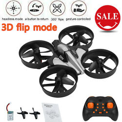 Mini RC Drone Remote Control Nano Quadcopter 3D Flip Quadcopter Children#x27;s Toy $19.99