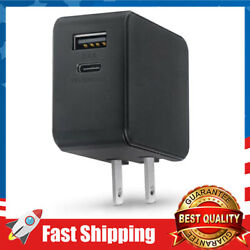 USB Wall Charger 30W Type C PD 3.0 Power Delivery Foldable Adapter for Travel $23.99